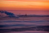 Москва под облаками