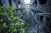 21 запрещенный снимок заброшенного японского острова Гункандзима