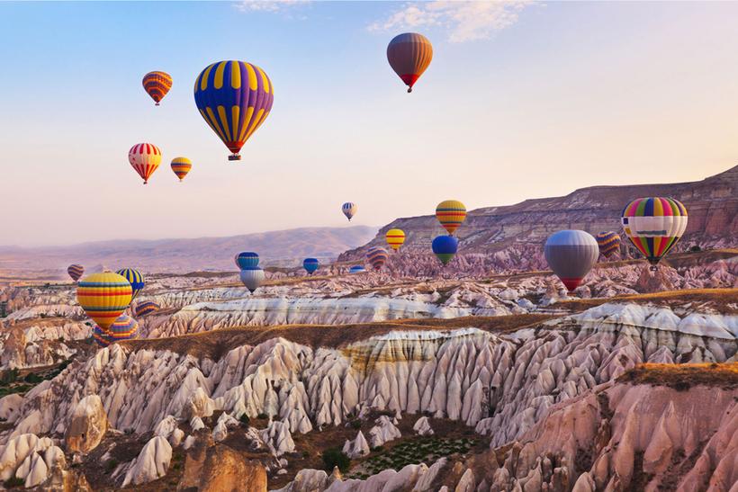 Каппадокия - отдых в Турции, как добраться, воздушные шары, экскурсии,  подземный город, отзывы и впечатления