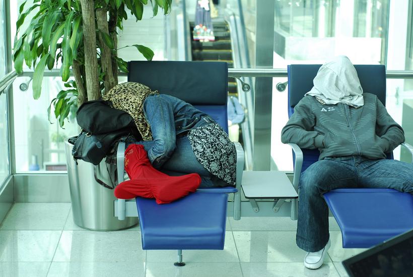 фото как люди спят на вокзале правильно организовать гнезда