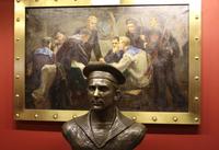 Музейная экспозиция крейсера