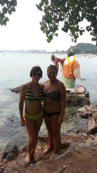 На фоне Будды (пляж танцующих женщин).