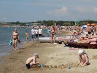 Классный песчаный пляж