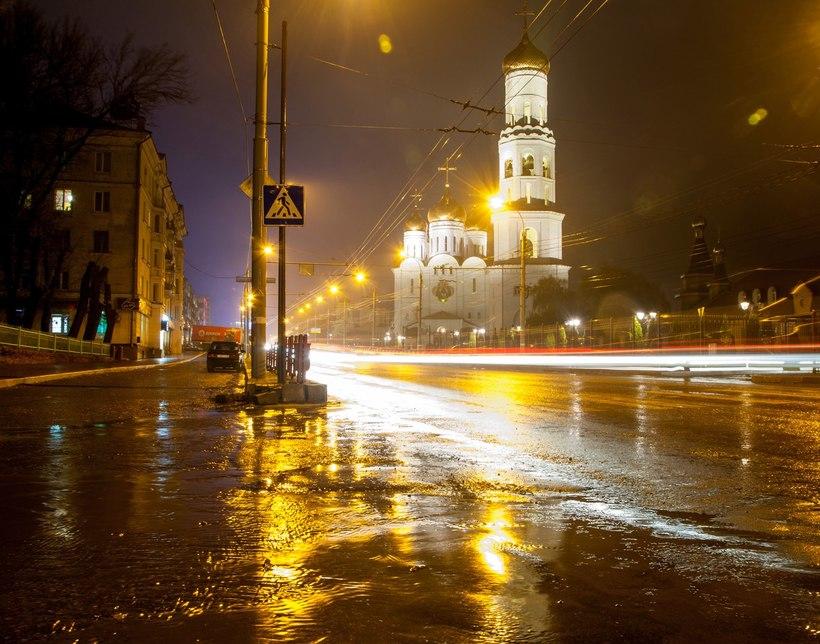 фото ночного неба города брянск меня