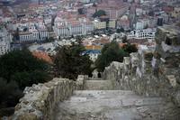 Castelo de S. Jorge, вид на Лиссабон