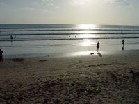 Пляж на Куте