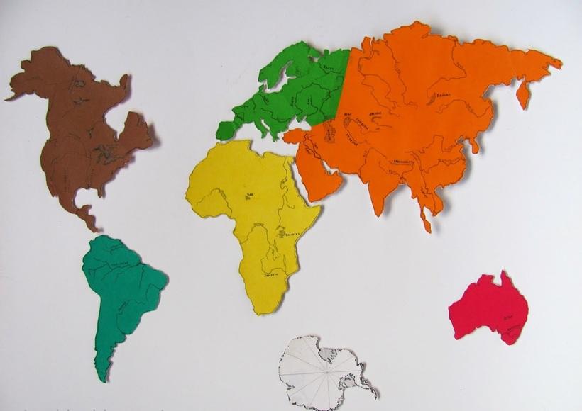 Картинки материков земли по отдельности, бракосочетание шаблон самые