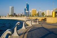Набережная в Абу-Даби, январь