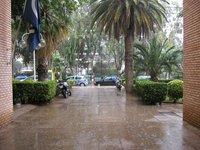 Декабрьский ливень в Афинах