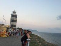 Анапский маяк в сентябре