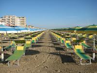 Типичный пляж Романской ривьеры, сентябрь 2017