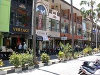 Улица в Куте — Jalan Pantai