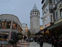 Январский холод в Стамбуле