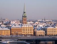 Стокгольм в январе