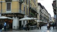 Милан, улица Брера
