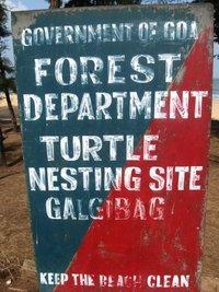 Табличка у пляжа Galjibag