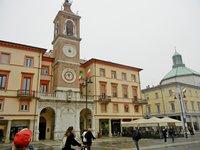 Часы на площади Кавур
