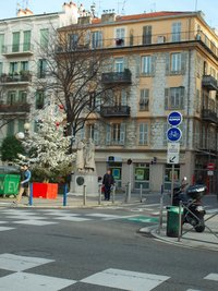 Январь в Ницце
