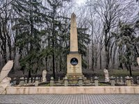 Памятник на месте дуэли М.Ю. Лермонтова
