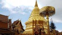 Ват Пратхат Дой Сутхеп в феврале - отличное место для фотографов