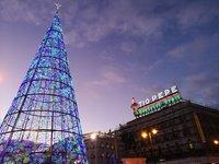 На площади Пуэрто дель Соль