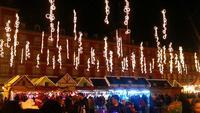 Рождественский рынок на Plaza Mayor