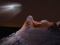 Фотограф-гений с помощью дронов делает потусторонние фото горных гало