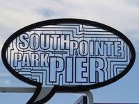 На пляже South Pointe Park