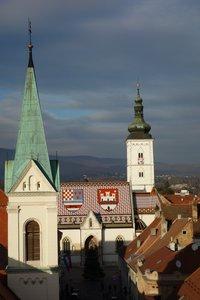 Церковь святого Марка в Загребе