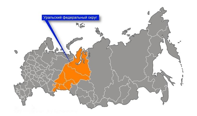 верблюжьей урал на карте россии с границами фоне неба