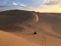 Закат в дюнах