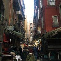 Рождественская аллея в Неаполе
