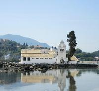 Vlacherna Monastery в мае