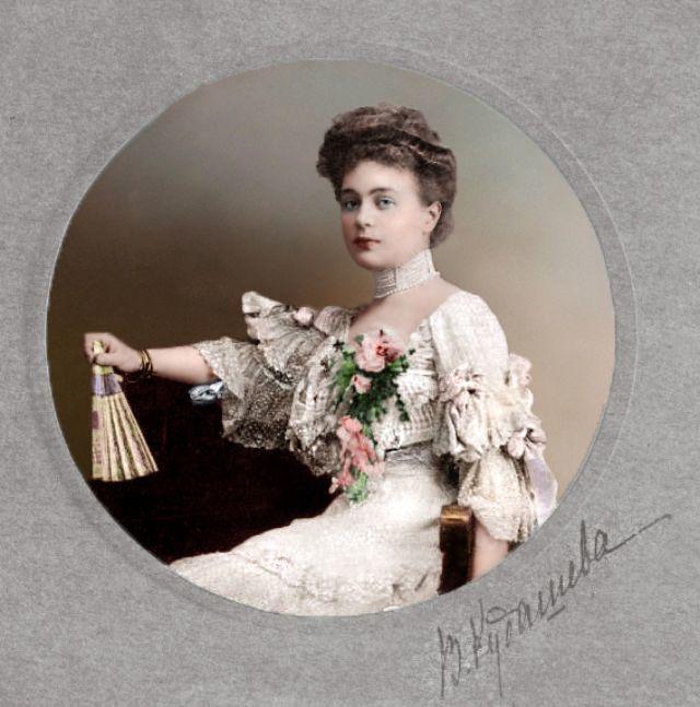 женские фотопортреты царской россии