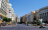 Валенсия, пешая прогулка по улицам города