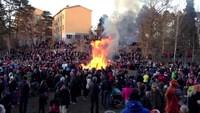 В Вальпургиеву ночь в Стокгольме собираются не только ведьмы, но и простые смертные