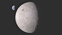 Почему мы не видим обратную сторону Луны, ведь она вращается вокруг своей оси