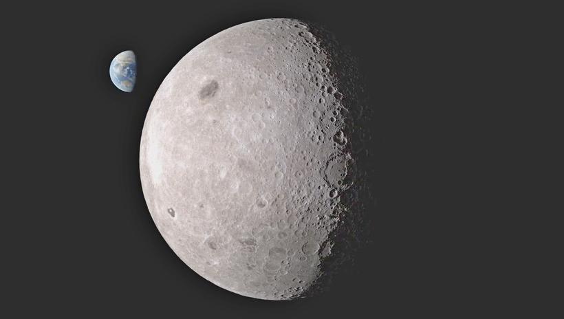 почему фото луны только с одной стороны одна