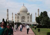 Индия, легендарный мавзолей Тадж-Махал
