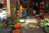 Непал, на рынке в Катманду