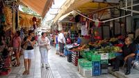 Греция, на рынке в Ираклионе