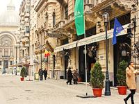 Бухарест: прогулка по пешеходной улице