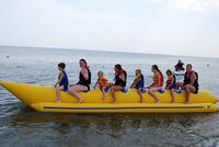Прогулка по морю на «банане»