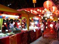 Весь Таиланд украшен красными шарами