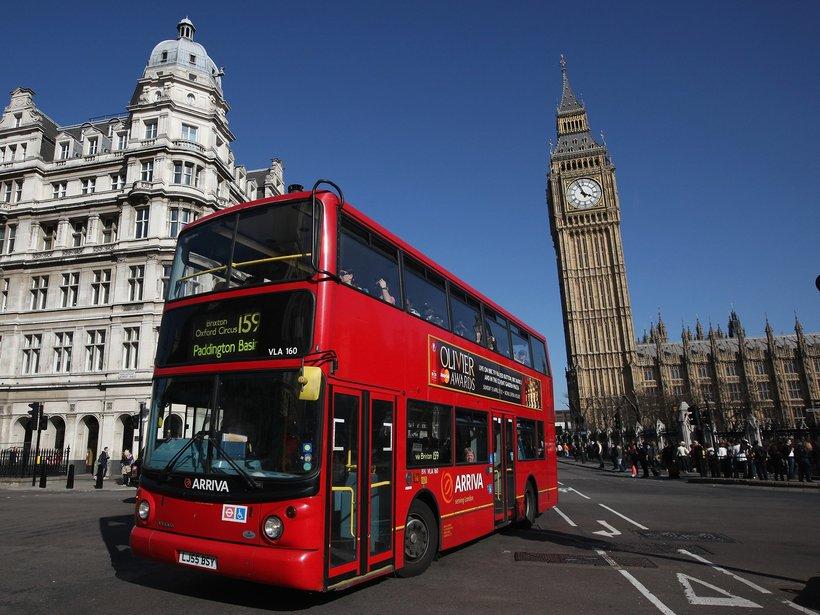 Англия картинки с автобусом