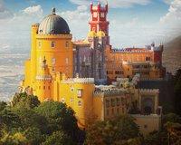 Дворец Пены - замок из сказки
