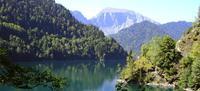 Озеро Рица в Рицинском реликтовом национальном парке
