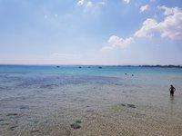 На пляже в Хаммамете