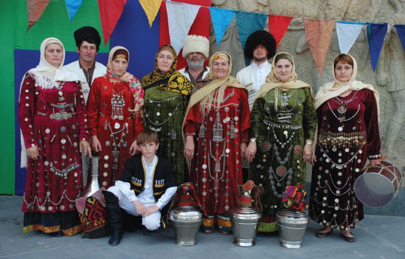 даргинский национальный костюм фото мужской и женский краткий
