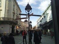Январский день на Кнеза-Михаила, Белград